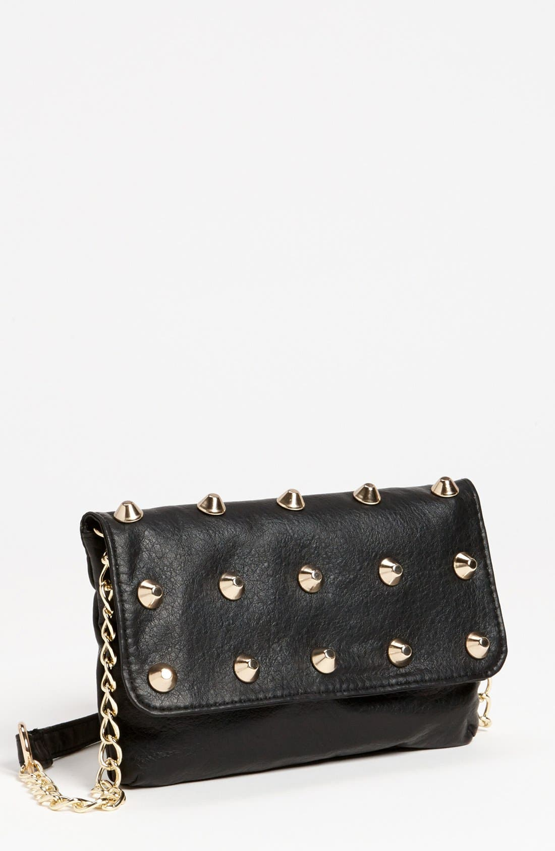 Main Image - Under One Sky Studded Crossbody Bag (Juniors)