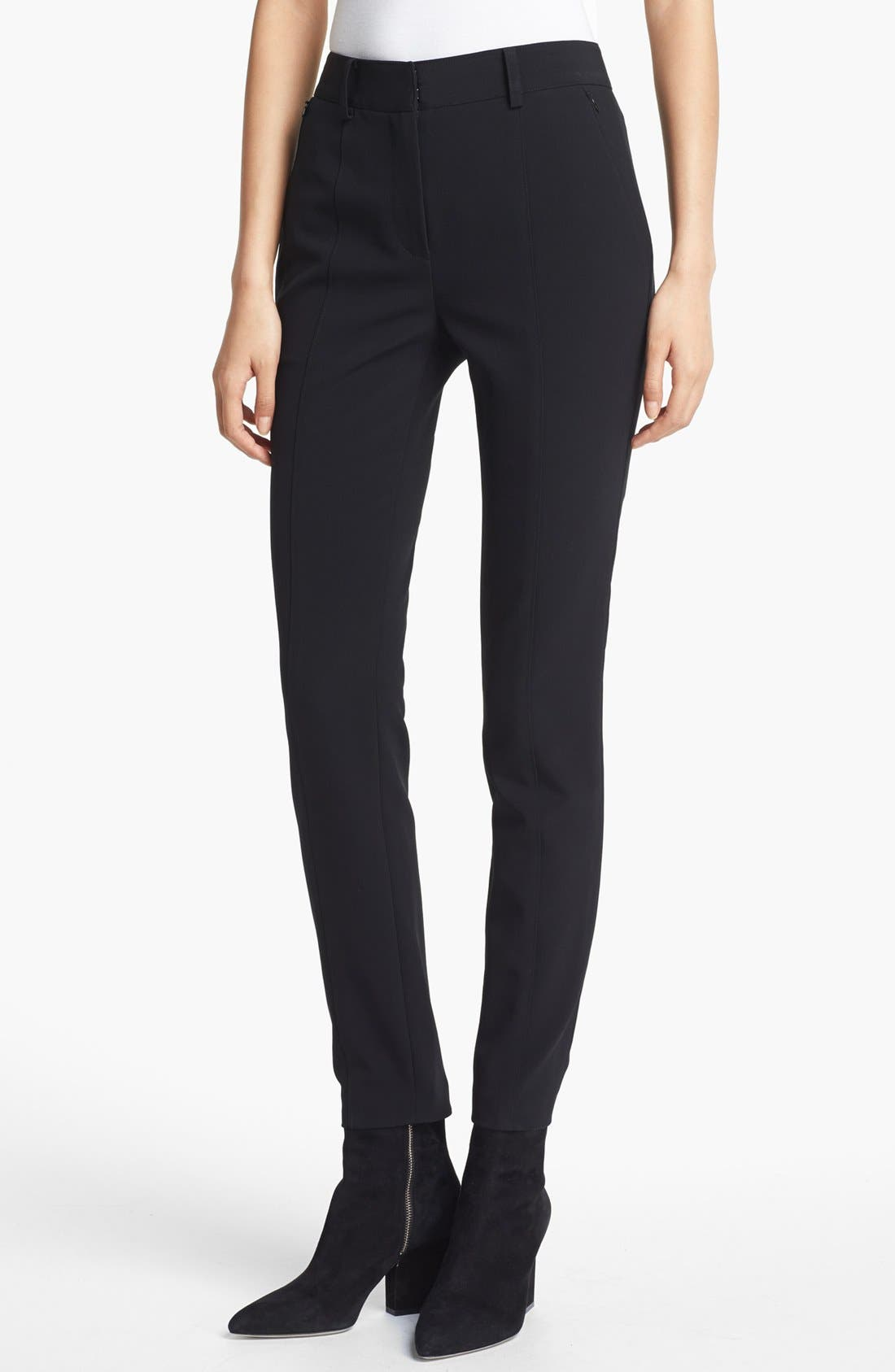 Main Image - Alexander Wang Seamed Skinny Pants