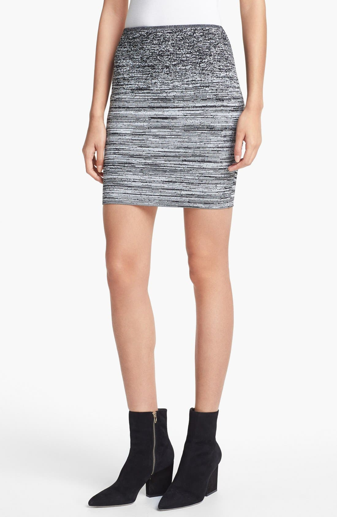 Alternate Image 1 Selected - Alexander Wang Sweatshirt & Skirt
