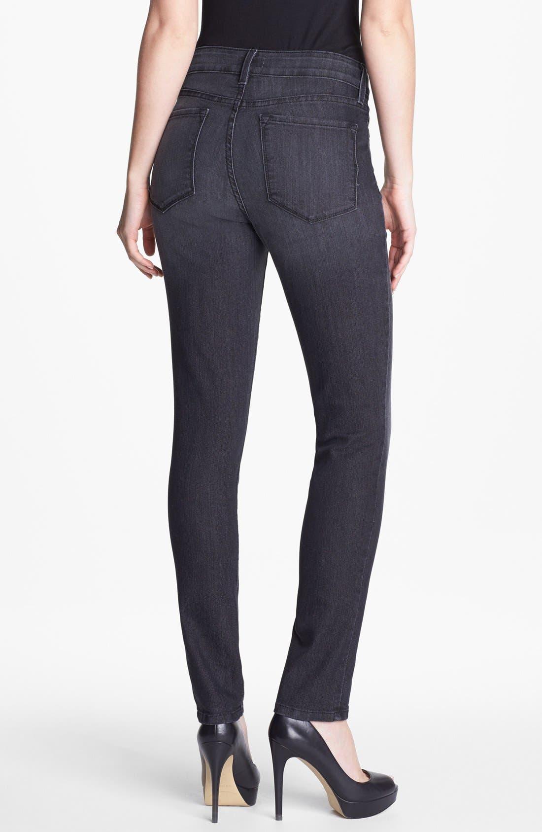 Alternate Image 2  - NYDJ 'Alina' Stretch Skinny Jeans