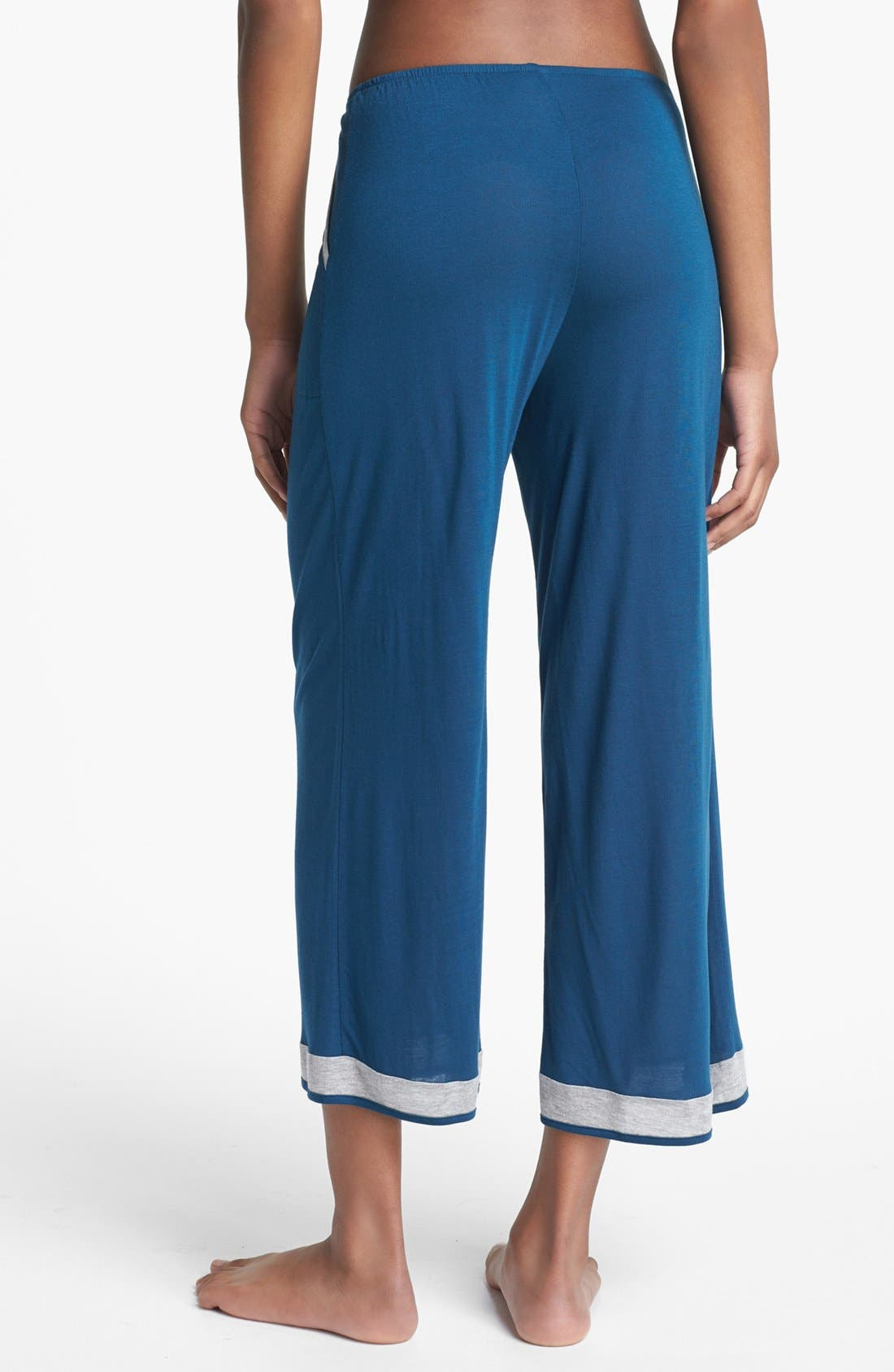 Alternate Image 2  - Only Hearts 'Venice Beach' Crop Lounge Pants