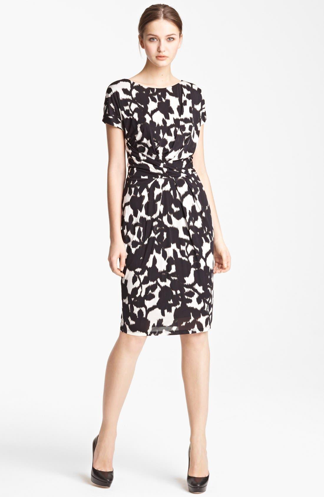 Main Image - Max Mara 'Canore' Print Jersey Dress