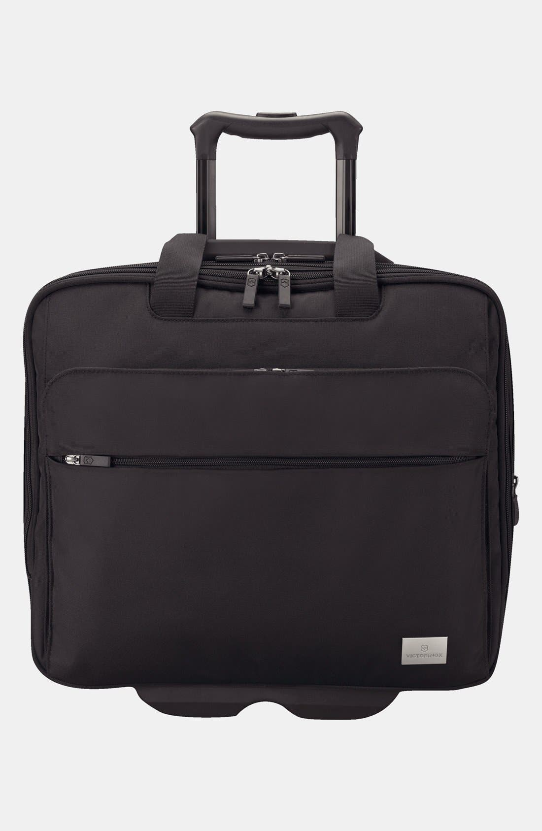 Alternate Image 1 Selected - Victorinox Swiss Army® 'Professional Officer' Rolling Carry-On