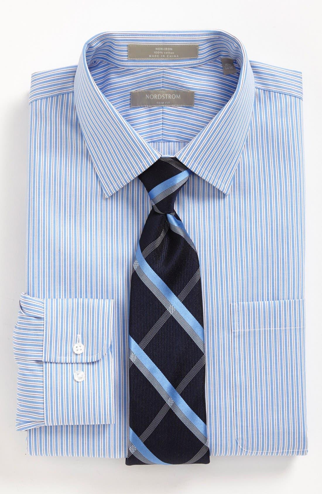 Alternate Image 3  - Nordstrom Trim Fit Dress Shirt