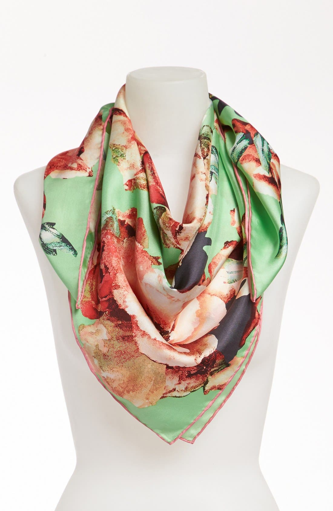 Main Image - Echo 'Antique Floral' Silk Scarf