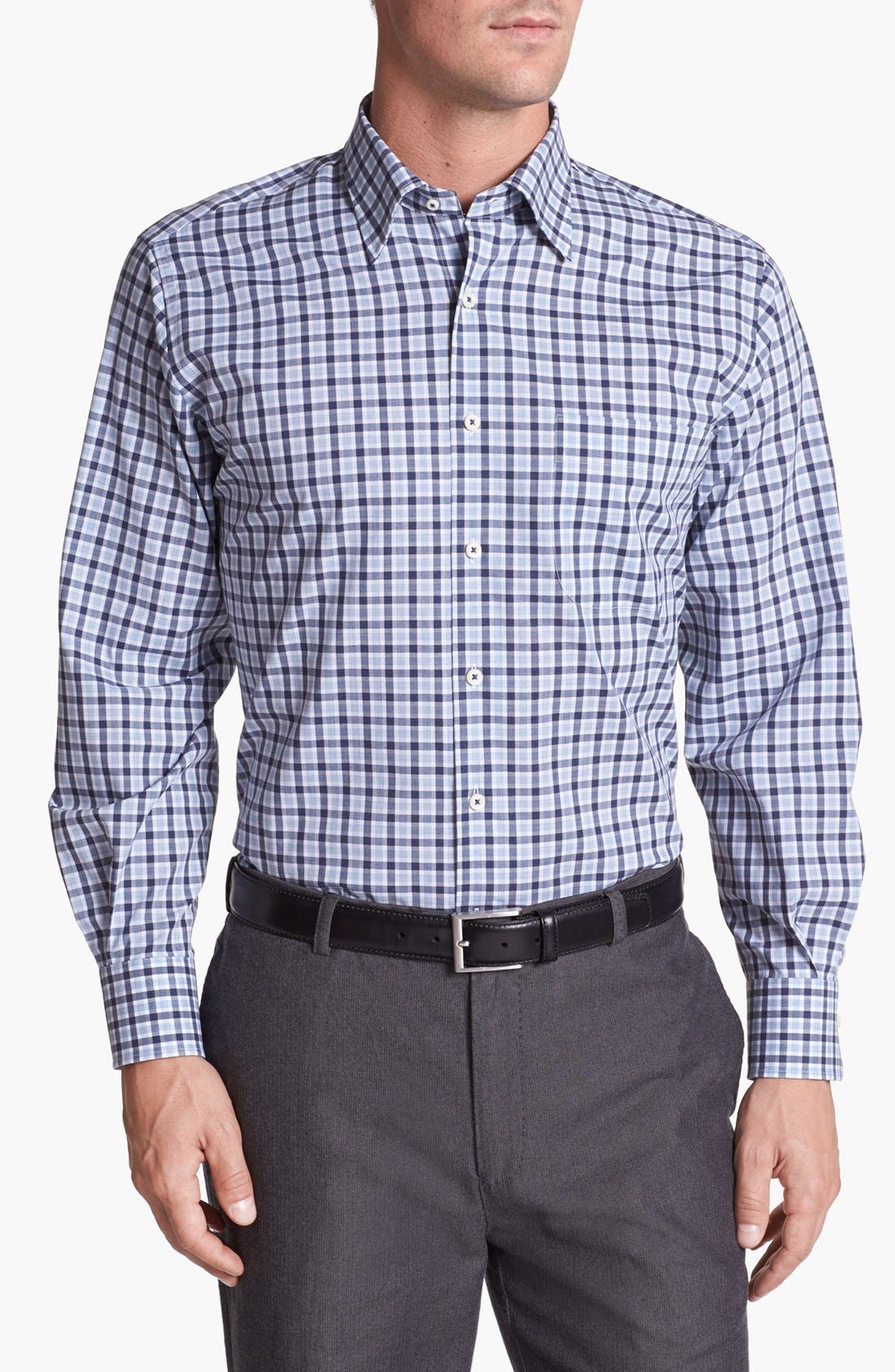 Alternate Image 1 Selected - Peter Millar 'Cambridge' Regular Fit Sport Shirt