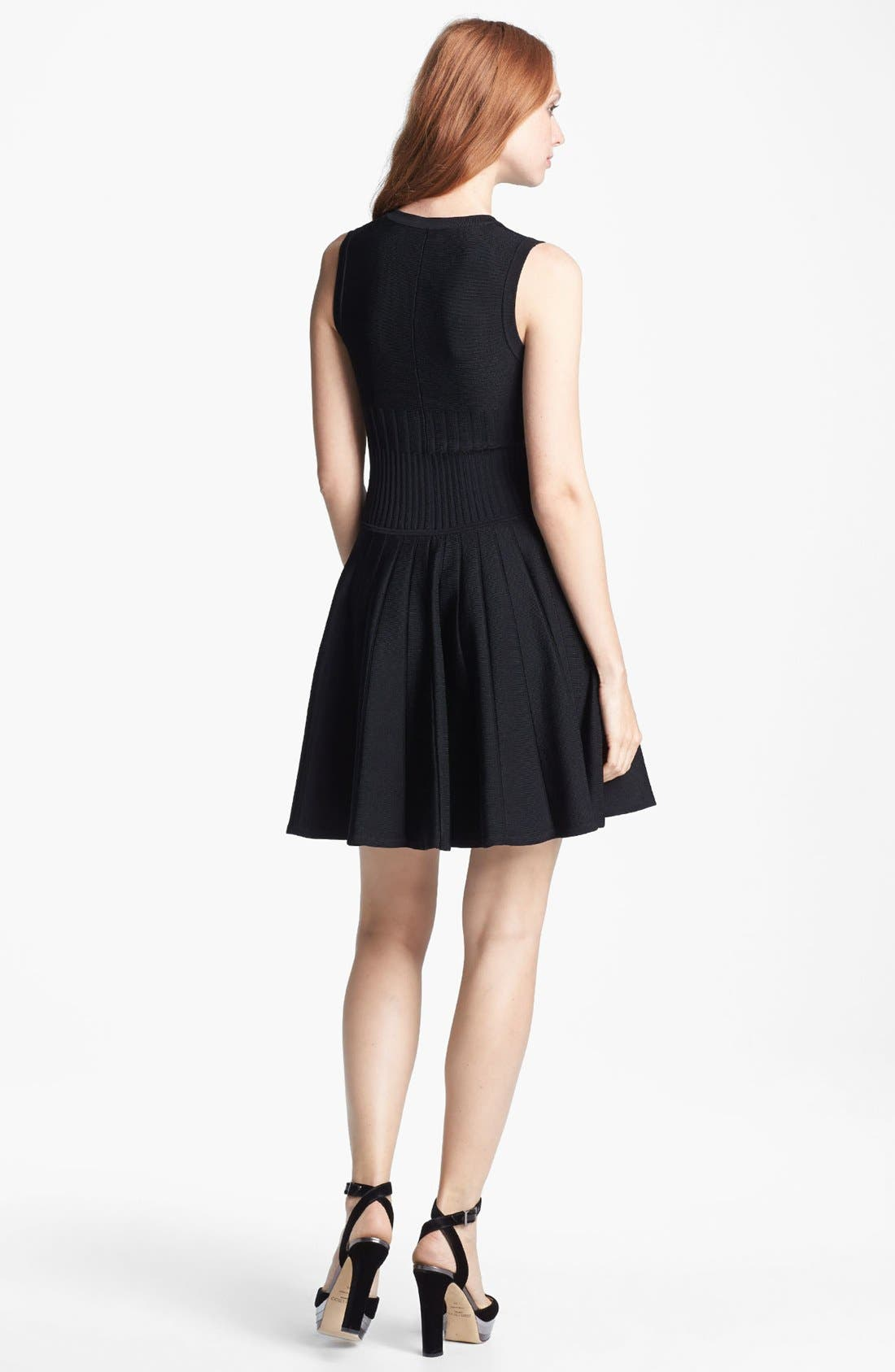 Alternate Image 2  - Parker 'Amanda' Knit Fit & Flare Dress