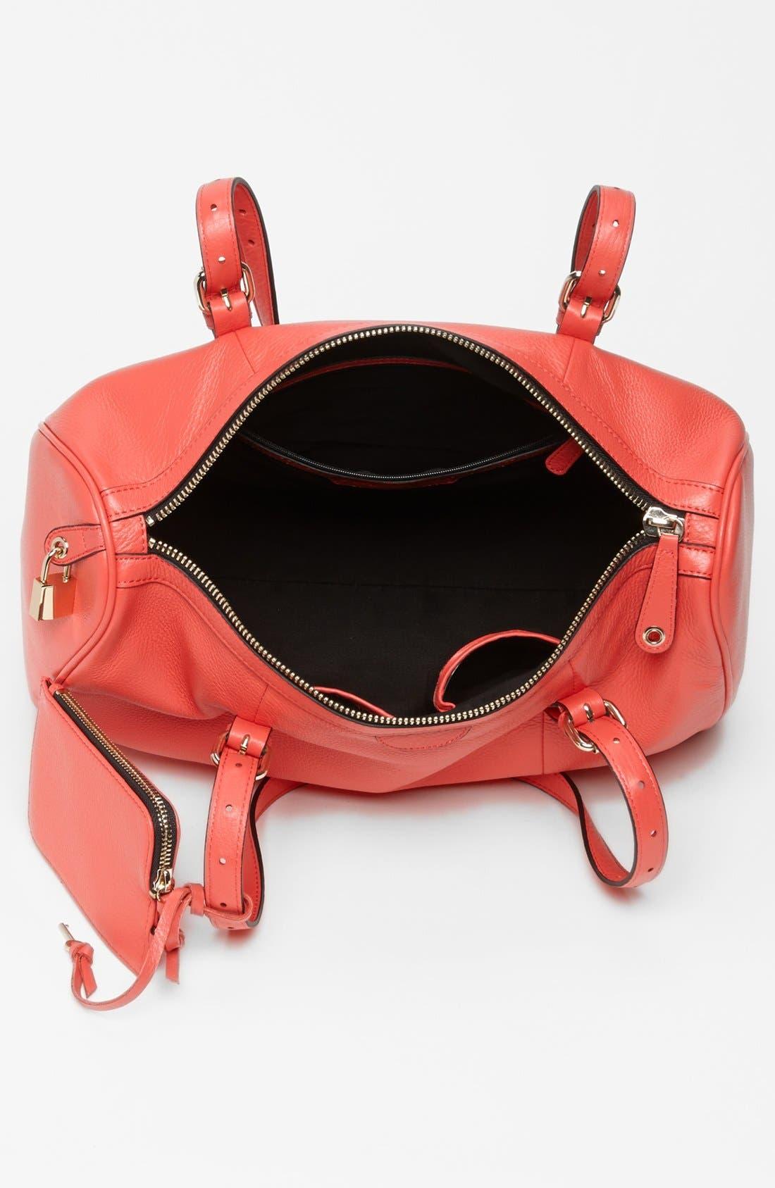 Alternate Image 3  - Halogen® Leather Satchel