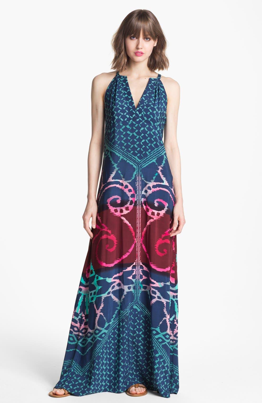 Alternate Image 1 Selected - Donna Morgan Print Maxi Dress