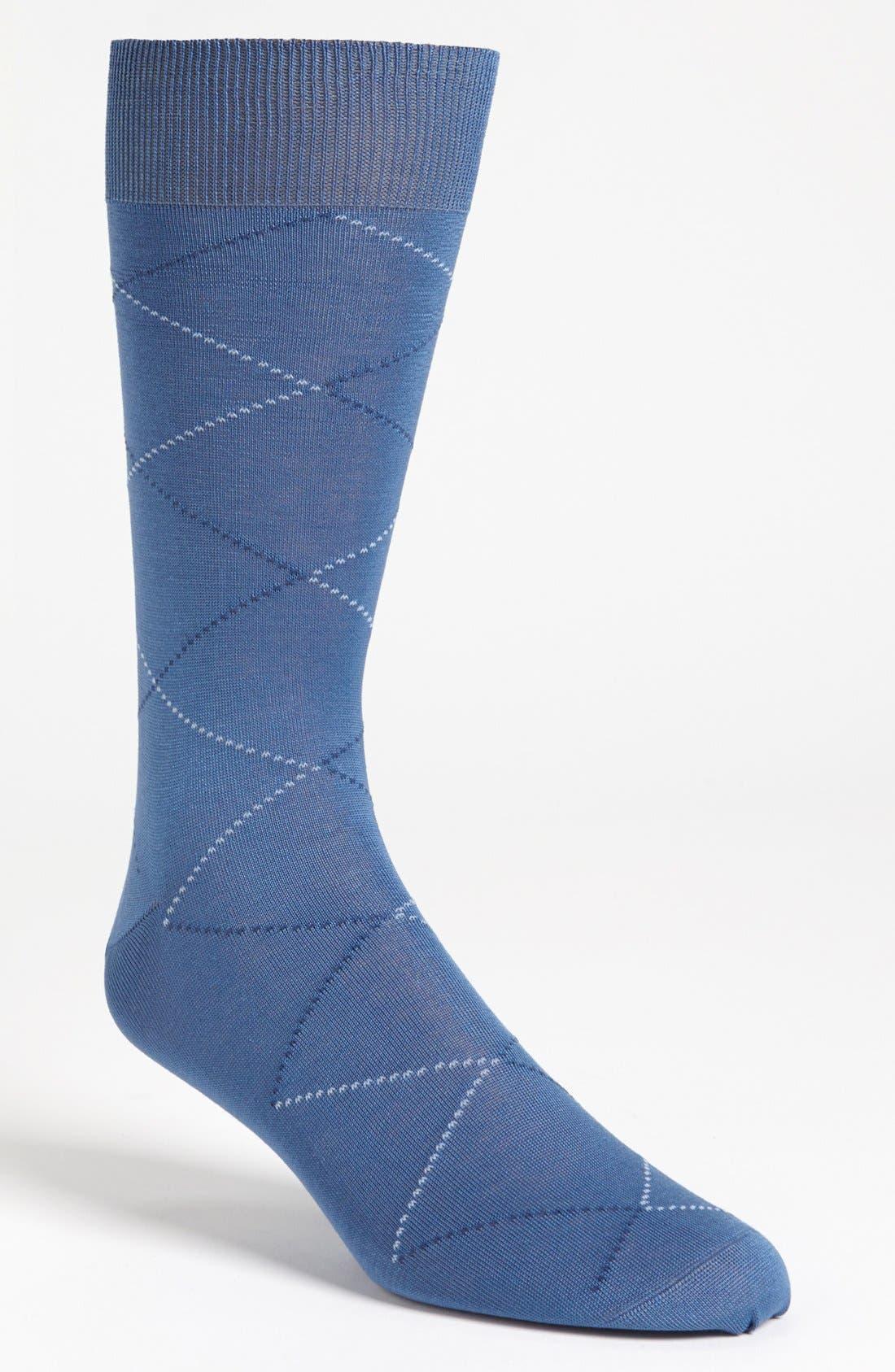 Alternate Image 1 Selected - Canali Argyle Socks