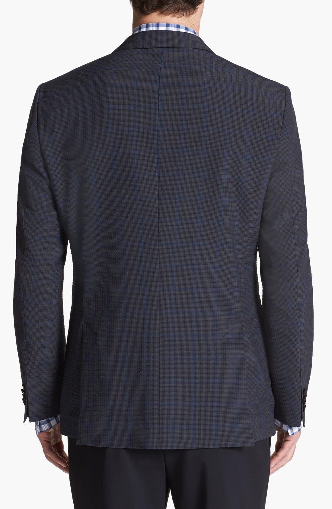 Alternate Image 3  - BOSS HUGO BOSS 'Jesse' Trim Fit Plaid Sportcoat