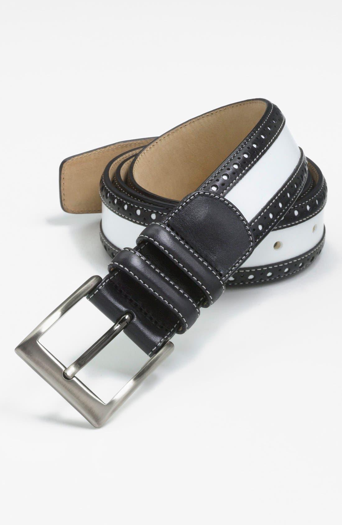 Alternate Image 1 Selected - Mezlan 'Parma Diver' Belt