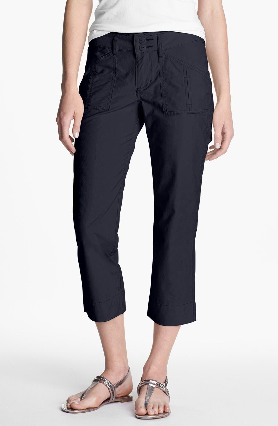 Alternate Image 1 Selected - Jag Jeans 'Ennis' Crop Pants (Petite)