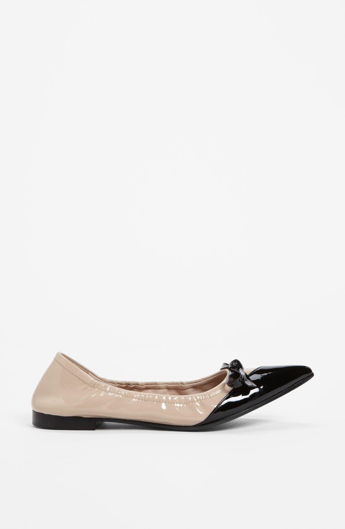 Alternate Image 4  - Miu Miu Point Toe Ballet Flat