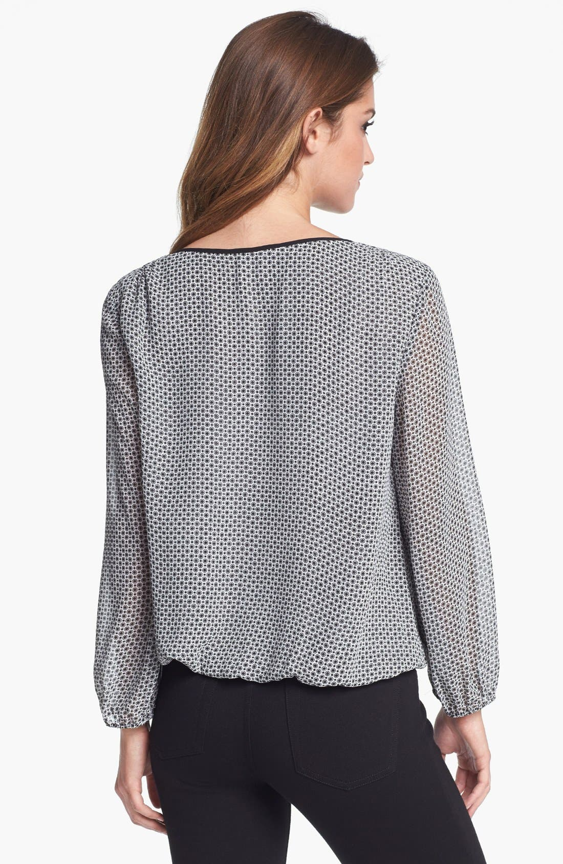 Alternate Image 2  - Vince Camuto Print Peasant Top (Nordstrom Exclusive)