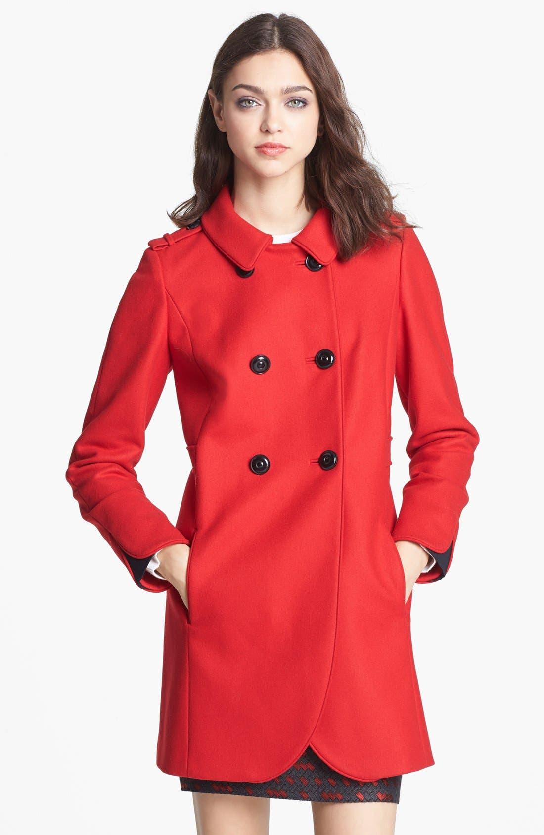 Alternate Image 3  - Miss Wu 'Torre' Wool Blend Military Jacket (Nordstrom Exclusive)