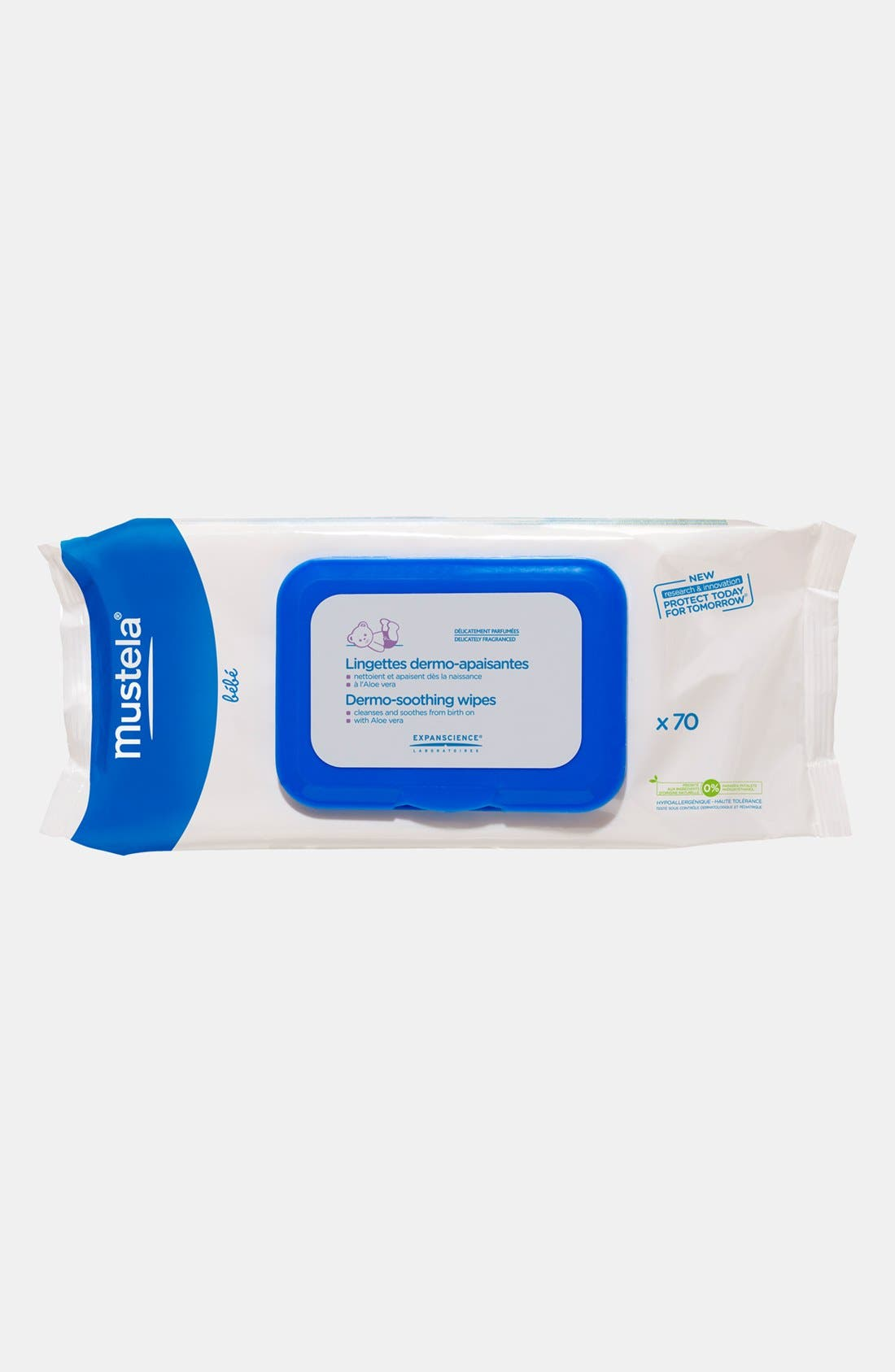 Mustela® Dermo-Soothing Wipes