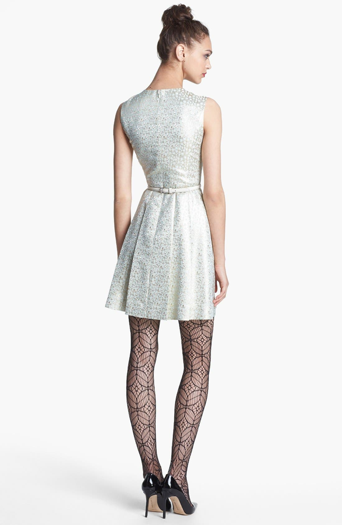 Alternate Image 2  - Miss Wu Marled Jacquard Cocktail Dress (Nordstrom Exclusive)
