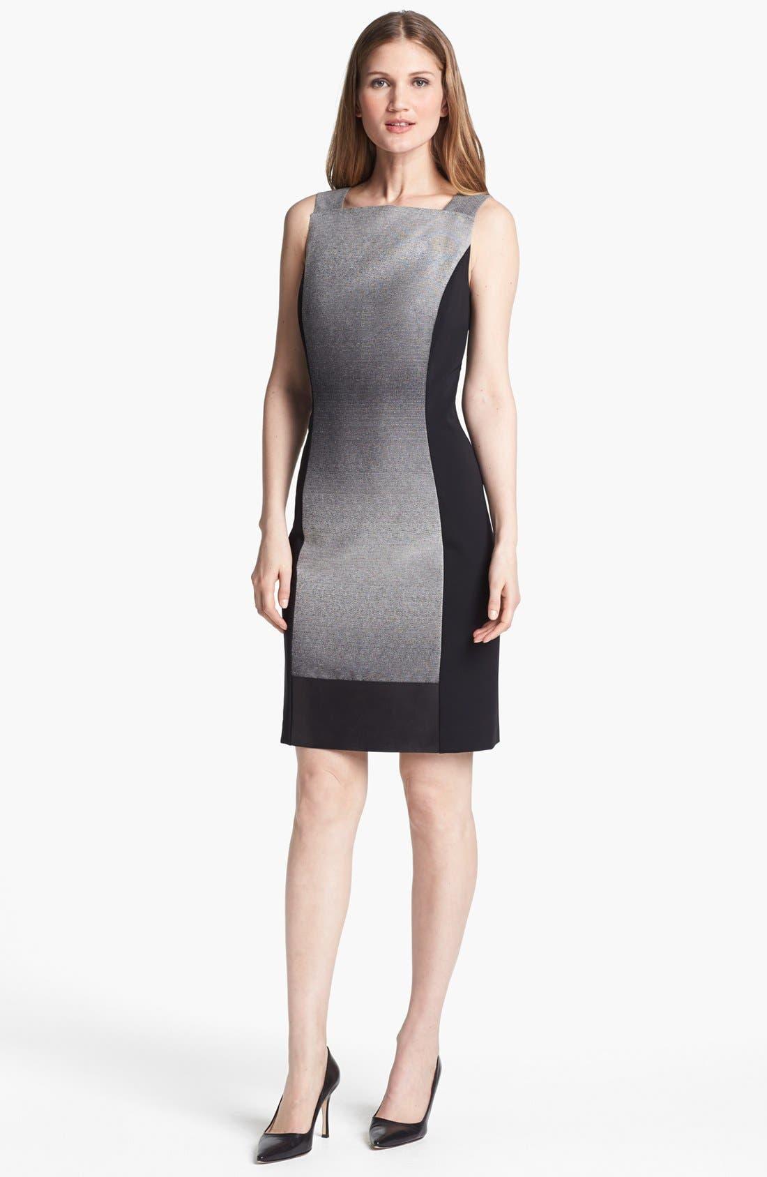 Alternate Image 1 Selected - Lafayette 148 New York 'Penny - Saturnine Cloth' Dress