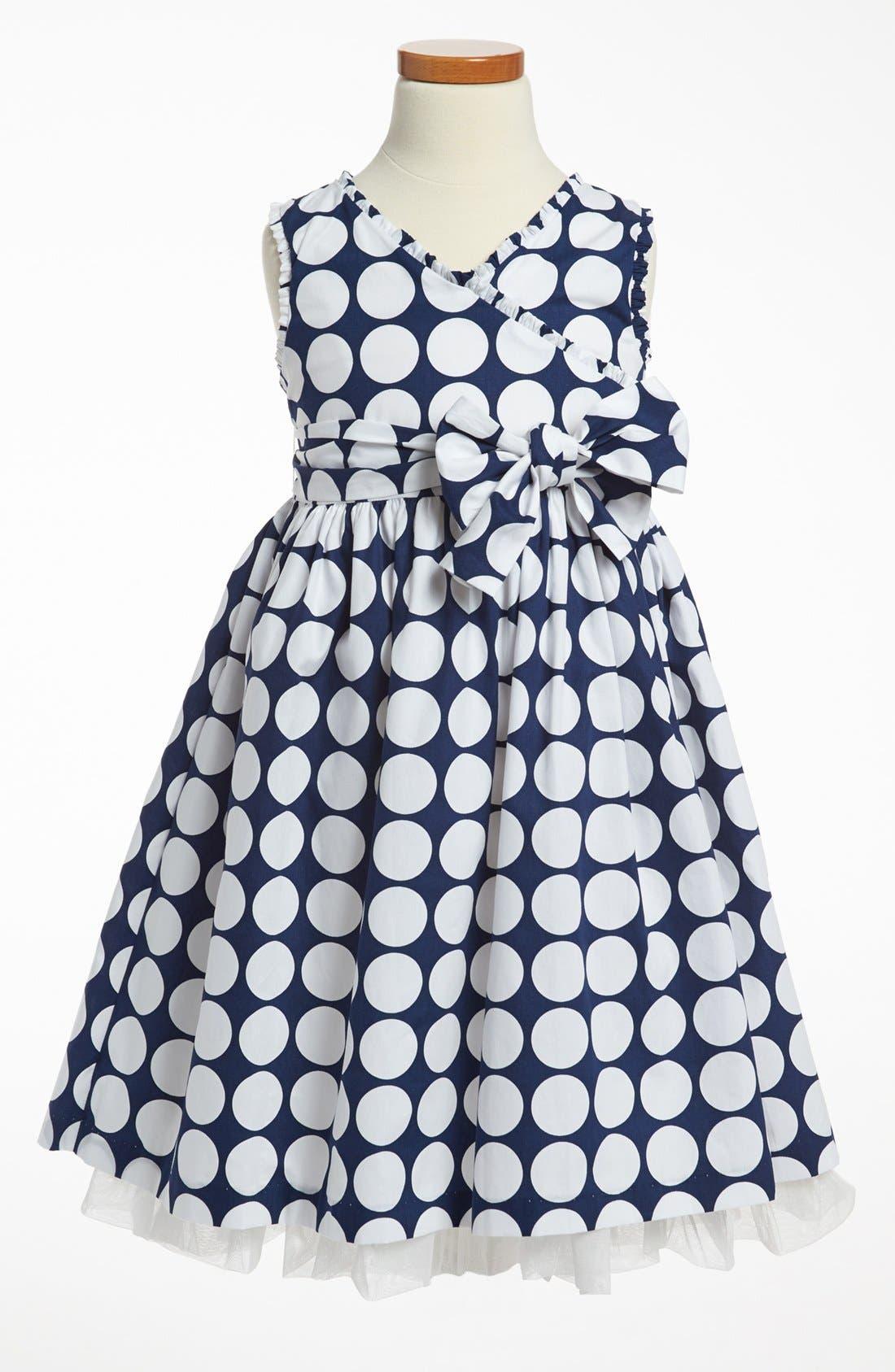 Alternate Image 1 Selected - Pippa & Julie Print Dress (Toddler Girls, Little Girls & Big Girls)