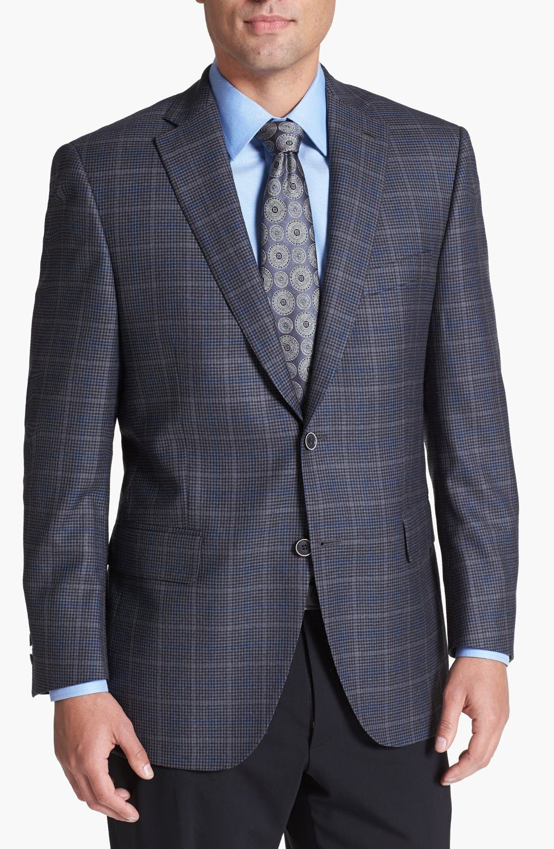 Alternate Image 1 Selected - Peter Millar Check Wool Sportcoat