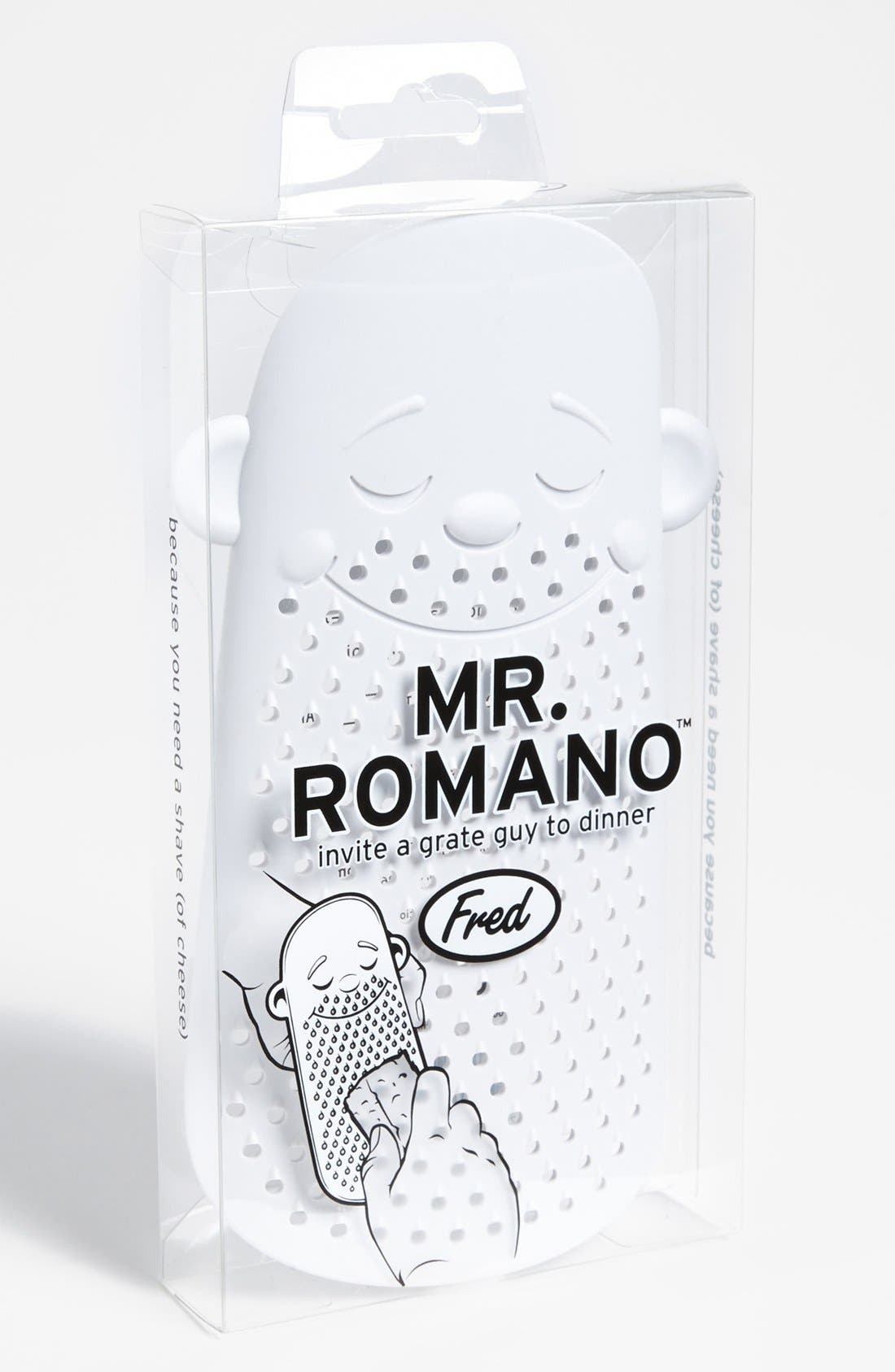 Alternate Image 1 Selected - Fred & Friends 'Mr. Romano' Grater