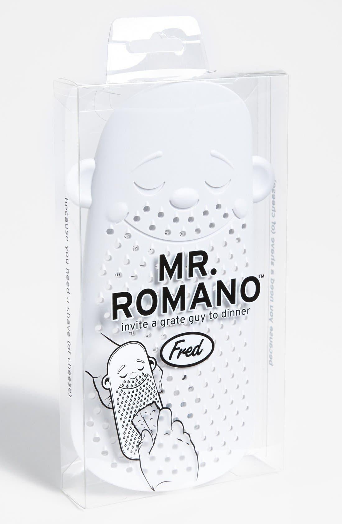 Main Image - Fred & Friends 'Mr. Romano' Grater