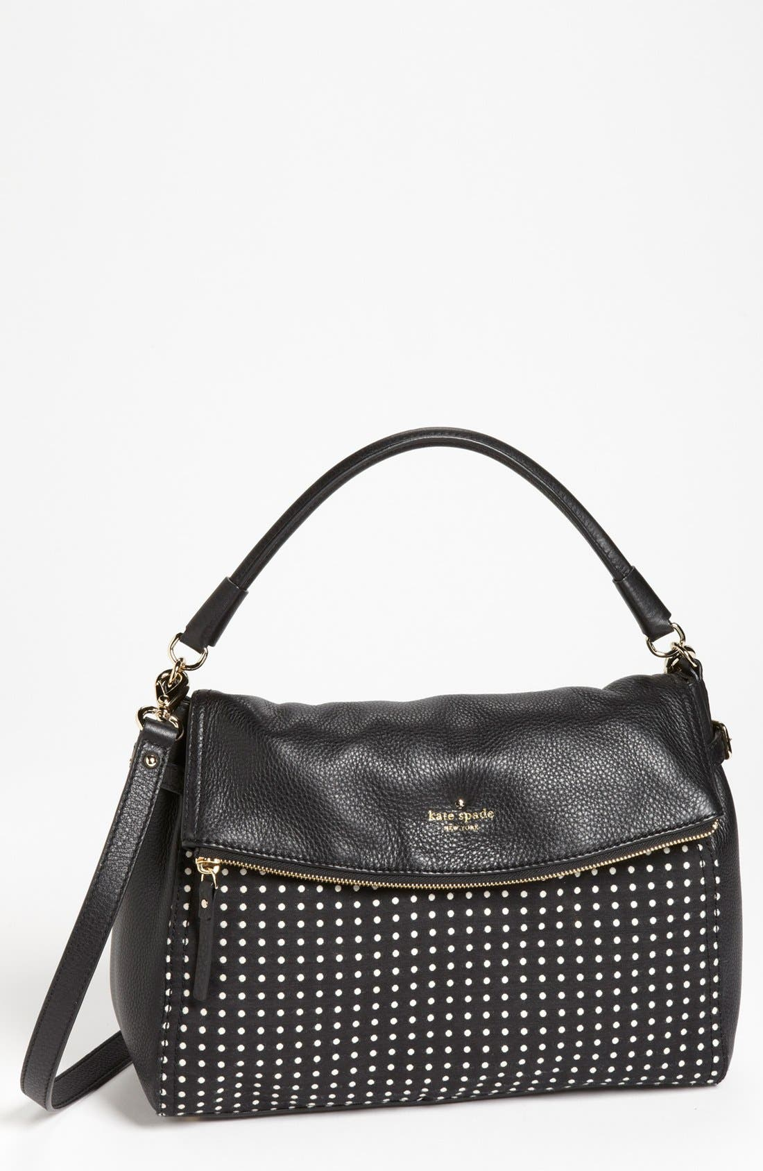 Alternate Image 1 Selected - kate spade new york 'cobble hill - dot little minka' satchel, large