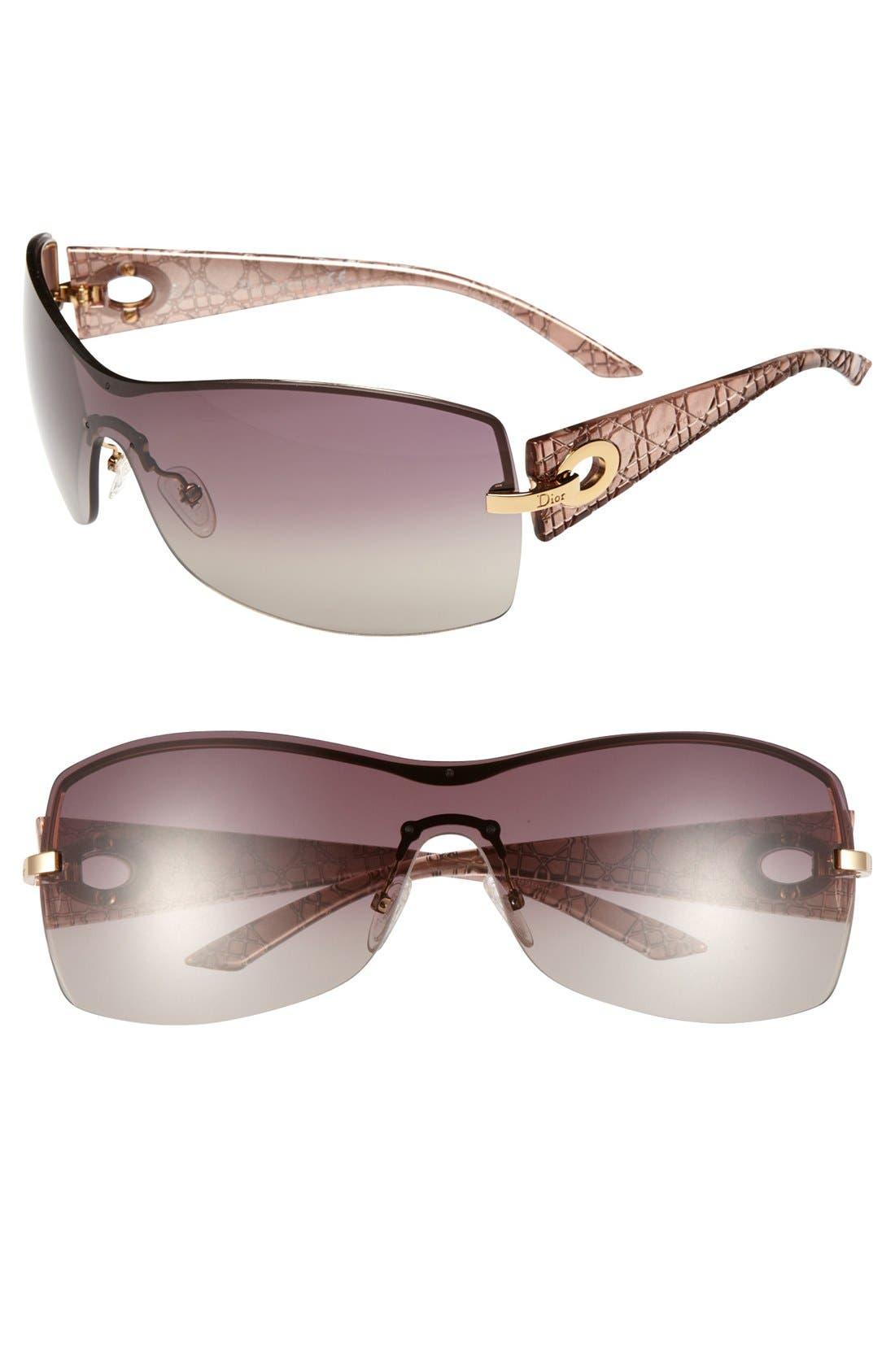 Main Image - Dior 'My Lady Dior 4' 99mm Shield Sunglasses