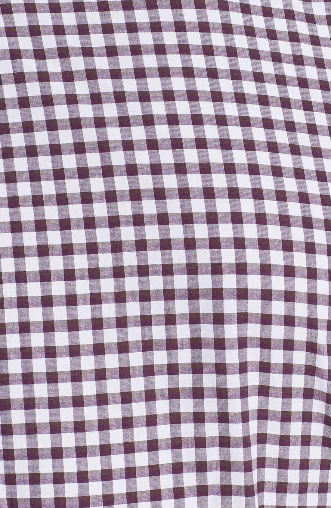 Alternate Image 3  - Canali Regular Fit Check Sport Shirt
