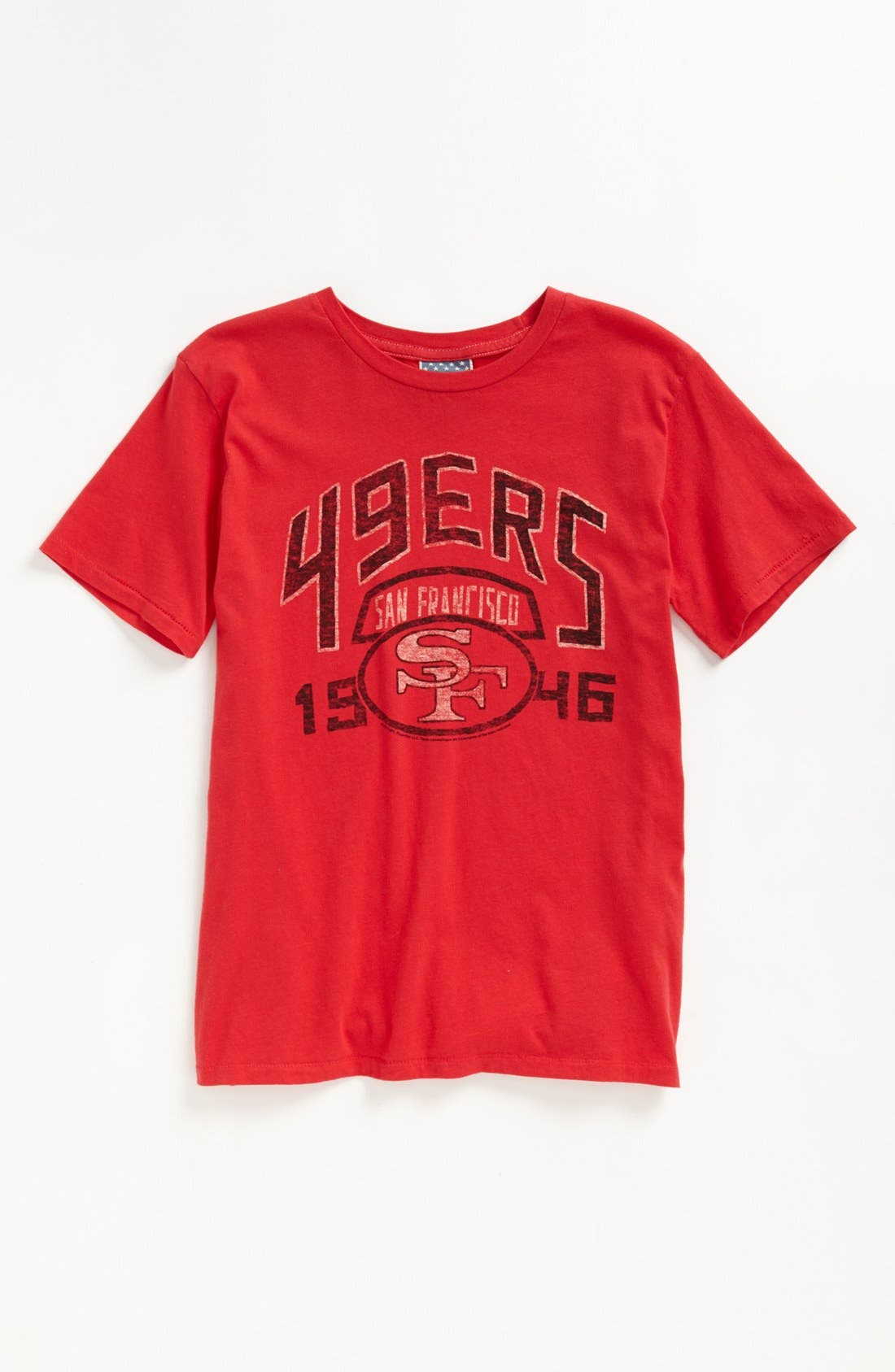 Alternate Image 1 Selected - Junk Food 'San Francisco 49ers' T-Shirt (Big Boys)