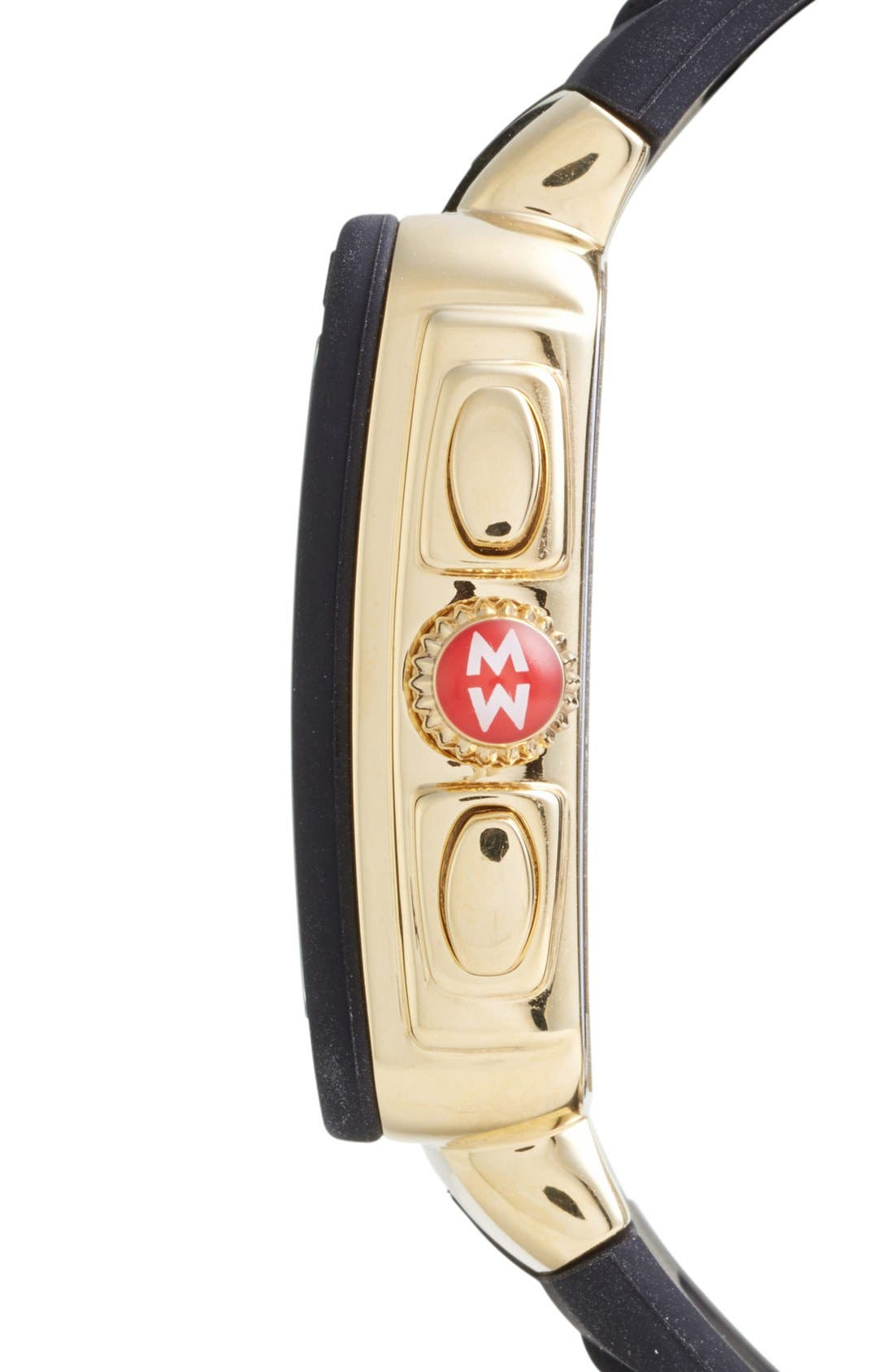 Alternate Image 2  - MICHELE 'Park Jelly Bean' Tiger Dial Watch, 33mm x 36mm