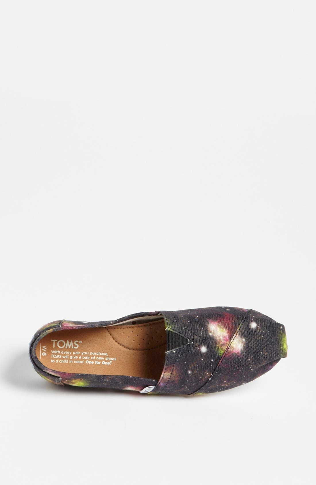 Alternate Image 3  - TOMS 'Classic - Black Nebula' Slip-On (Women) (Exclusive Color)
