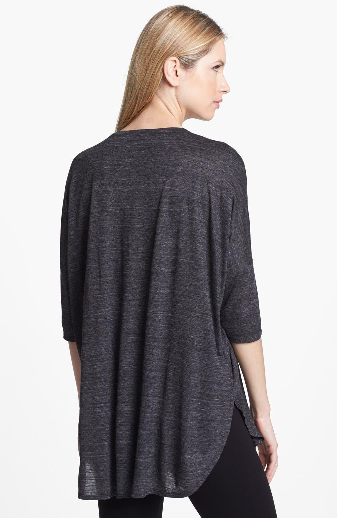 Alternate Image 2  - Eileen Fisher V-Neck Slub Jersey Tunic