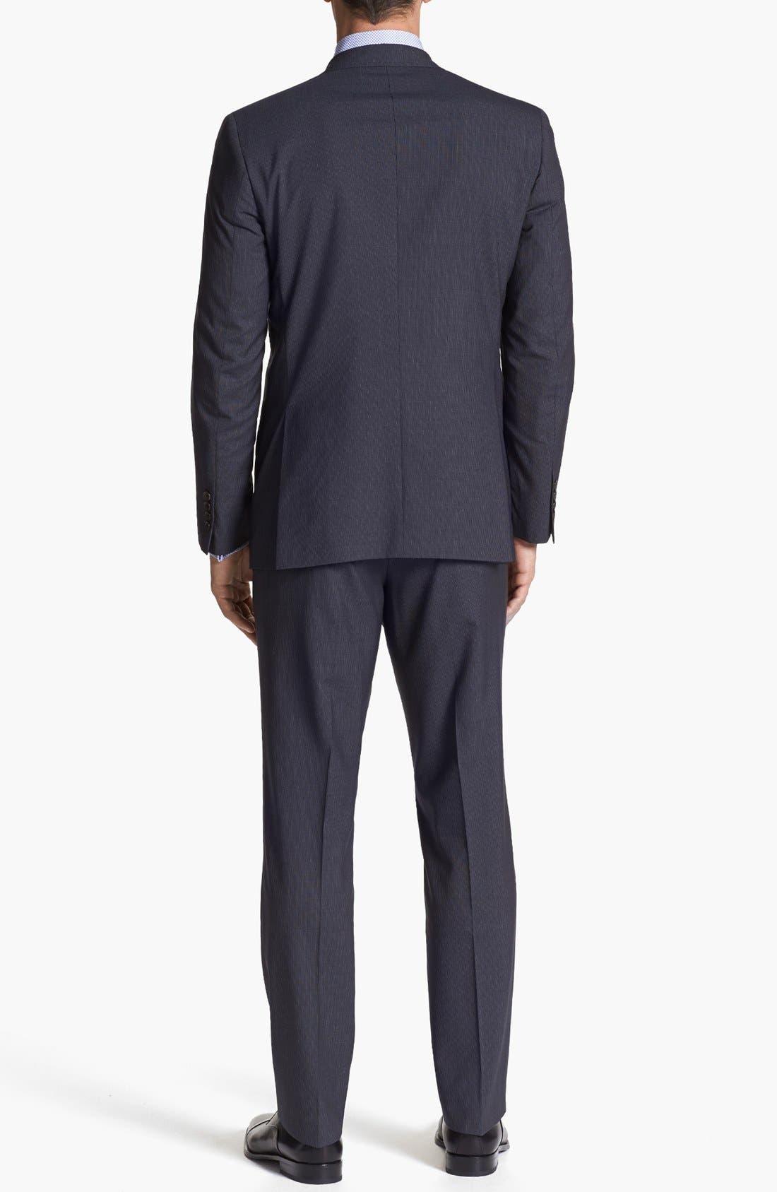 Alternate Image 3  - Ted Baker London 'Jim' Pinstripe Wool Suit