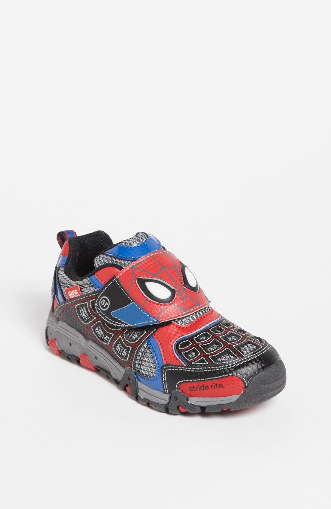 Main Image - Stride Rite 'Spidey Lights' Sneaker (Walker, Toddler & Little Kid)