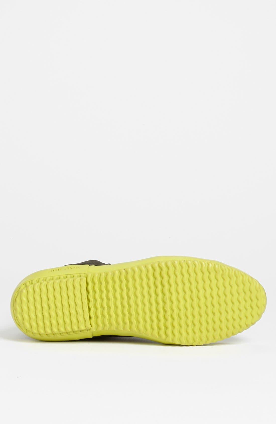 Alternate Image 4  - Jimmy Choo 'Cabot' Sneaker
