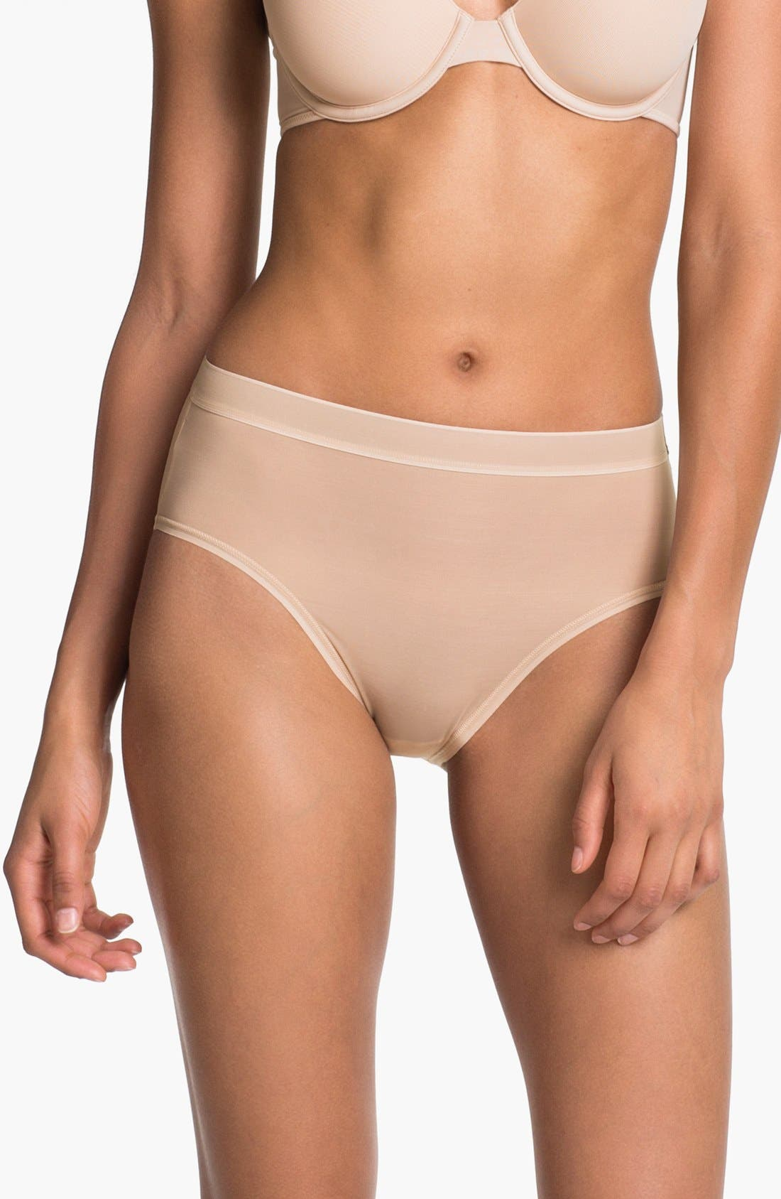 Alternate Image 1 Selected - Wacoal 'Smooth Complexion' High Cut Briefs