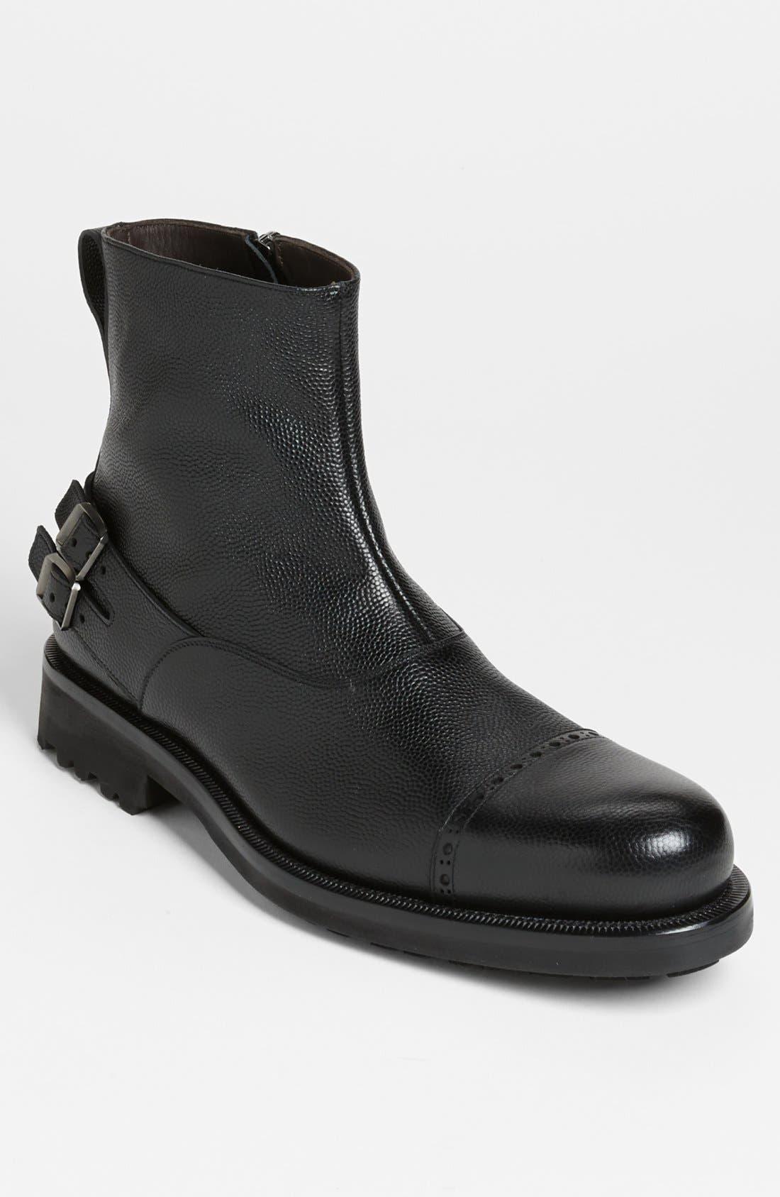 Alternate Image 1 Selected - Salvatore Ferragamo 'Sestri' Cap Toe Boot