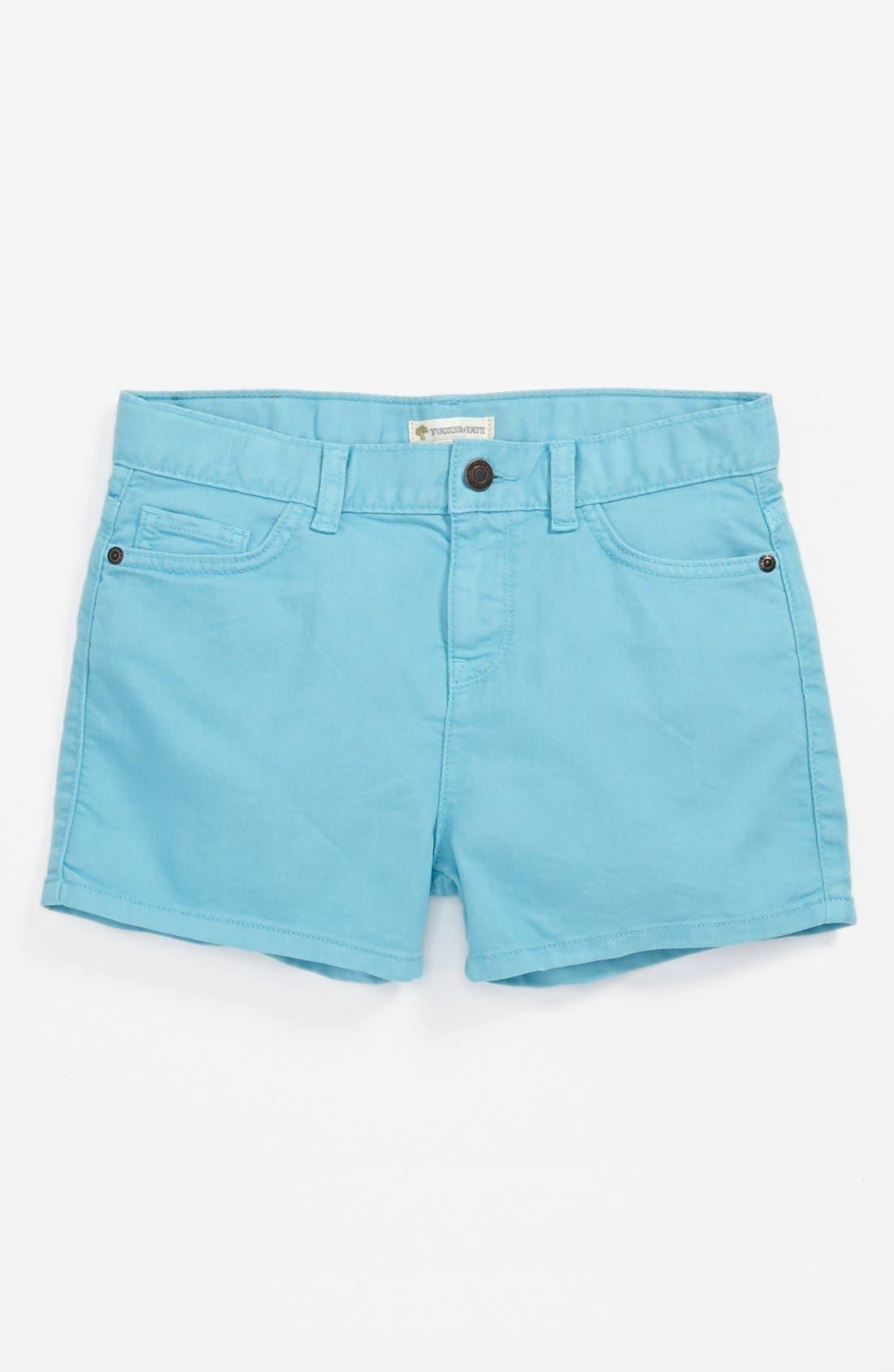 Alternate Image 2  - Tucker + Tate 'Abbie' Denim Shorts (Big Girls)