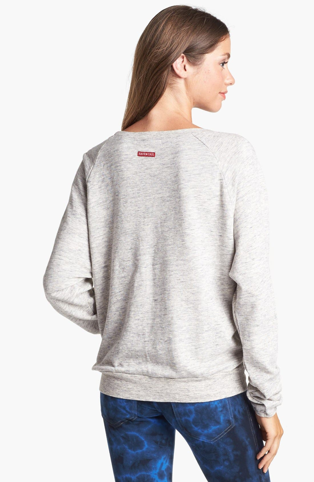 Alternate Image 2  - Hard Tail Raglan Sleeve Sweatshirt (Online Only)