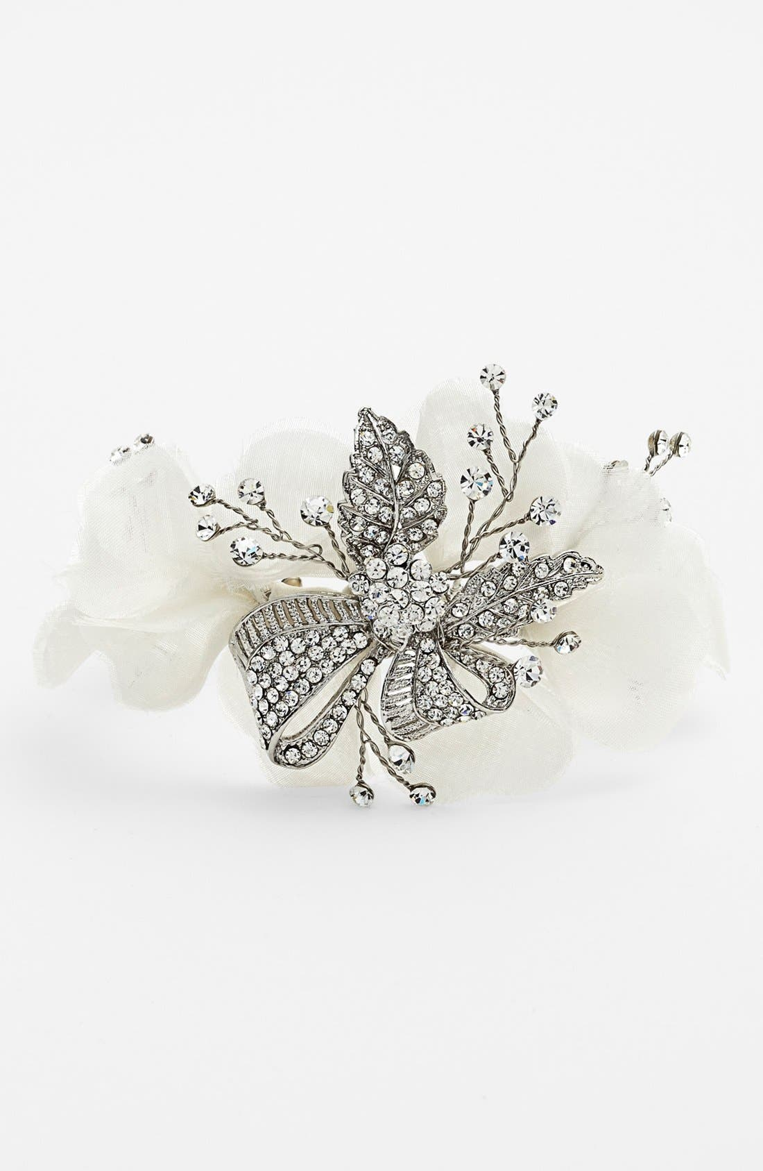 Alternate Image 1 Selected - Nina 'Tulsa' Flower Bracelet