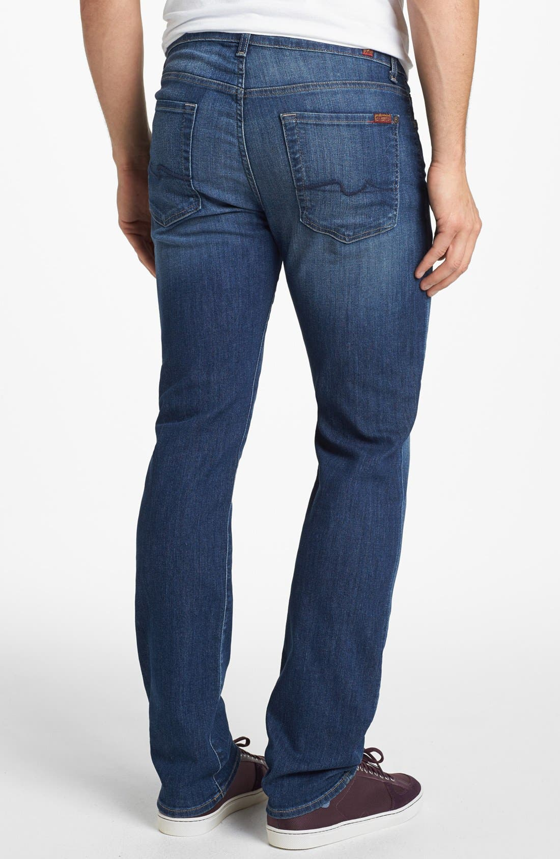 Alternate Image 1 Selected - 7 For All Mankind® 'Slimmy' Slim Fit Jeans (Maricopa Springs)