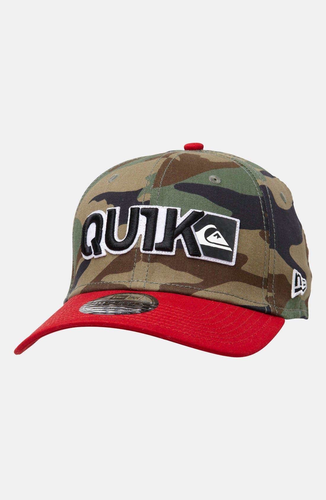 Alternate Image 1 Selected - Quiksilver 'Blocked B' Hat (Boys)