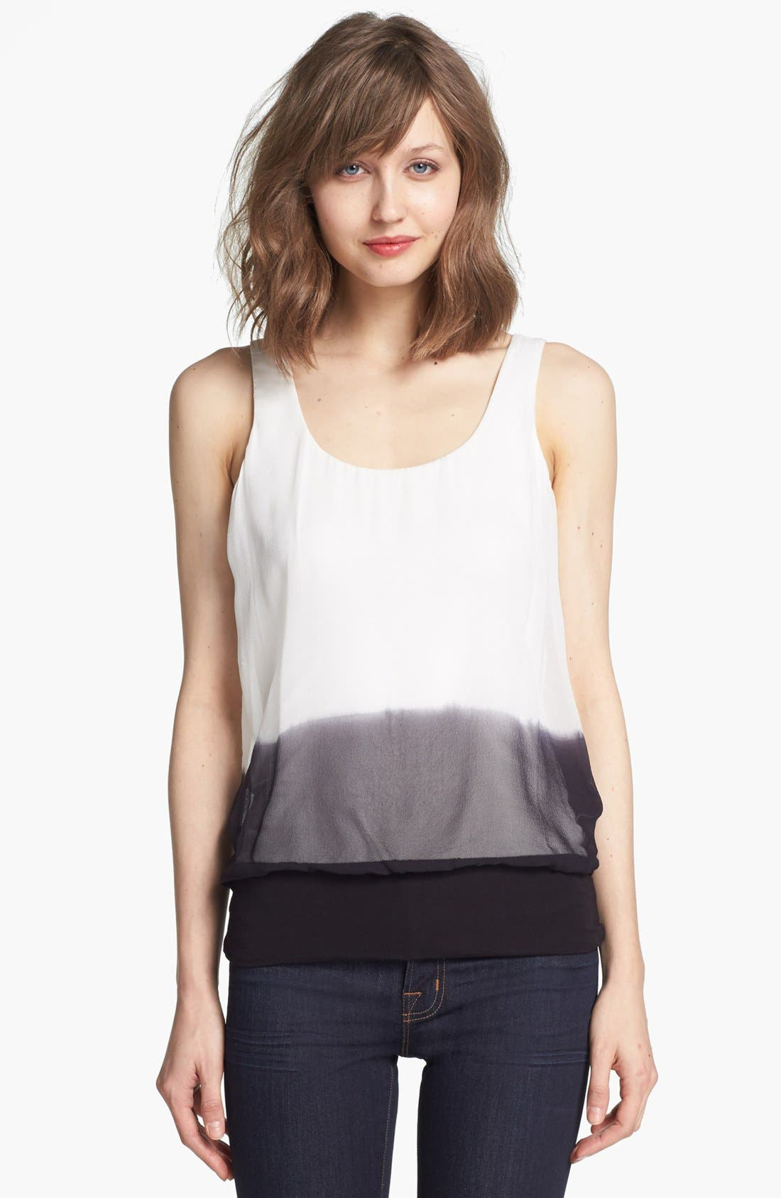 Alternate Image 1 Selected - Bailey 44 'Anime' Silk Blouson Top