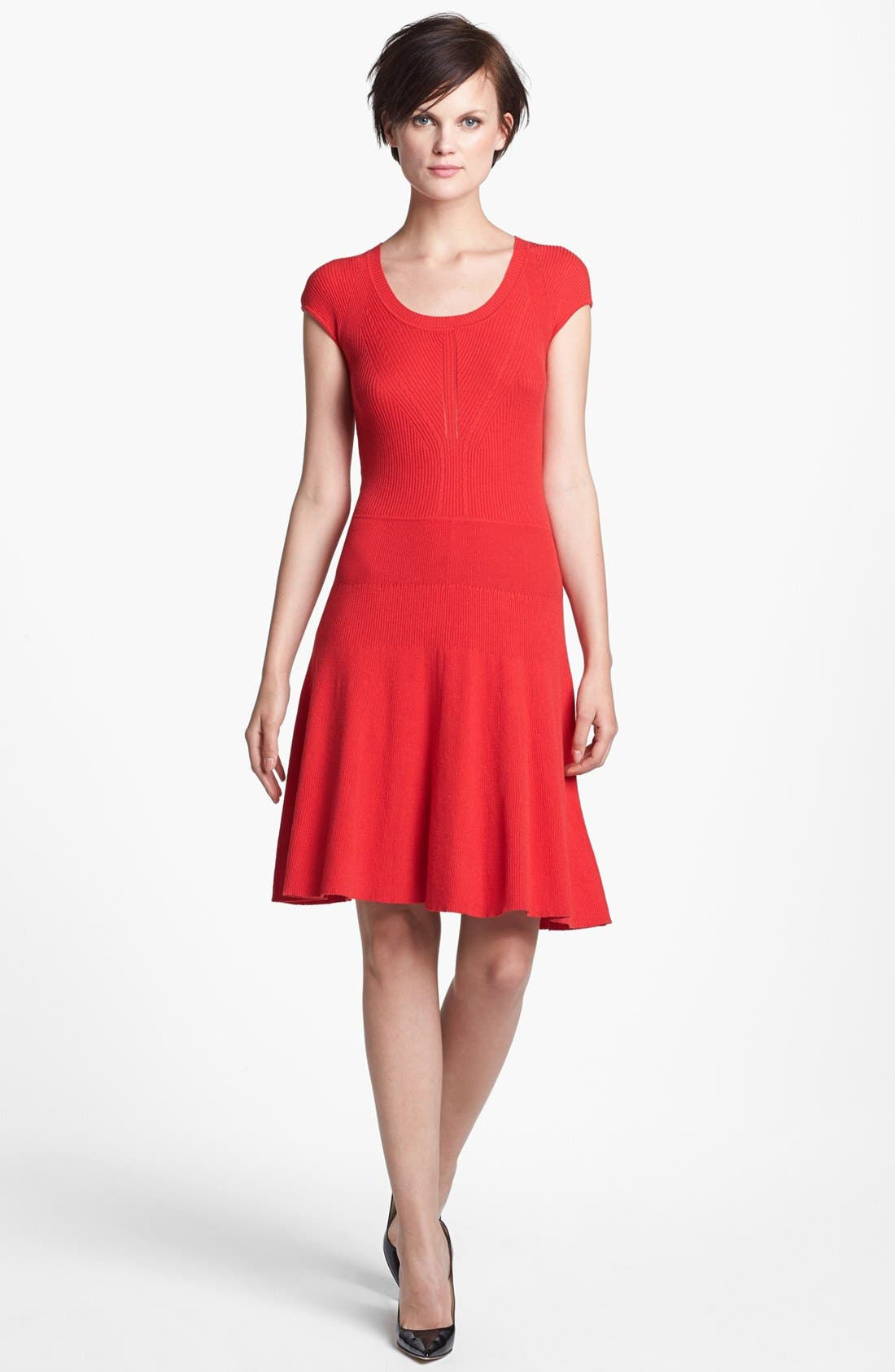 Alternate Image 1 Selected - MARC BY MARC JACOBS 'Wanda' A-Line Sweater Dress