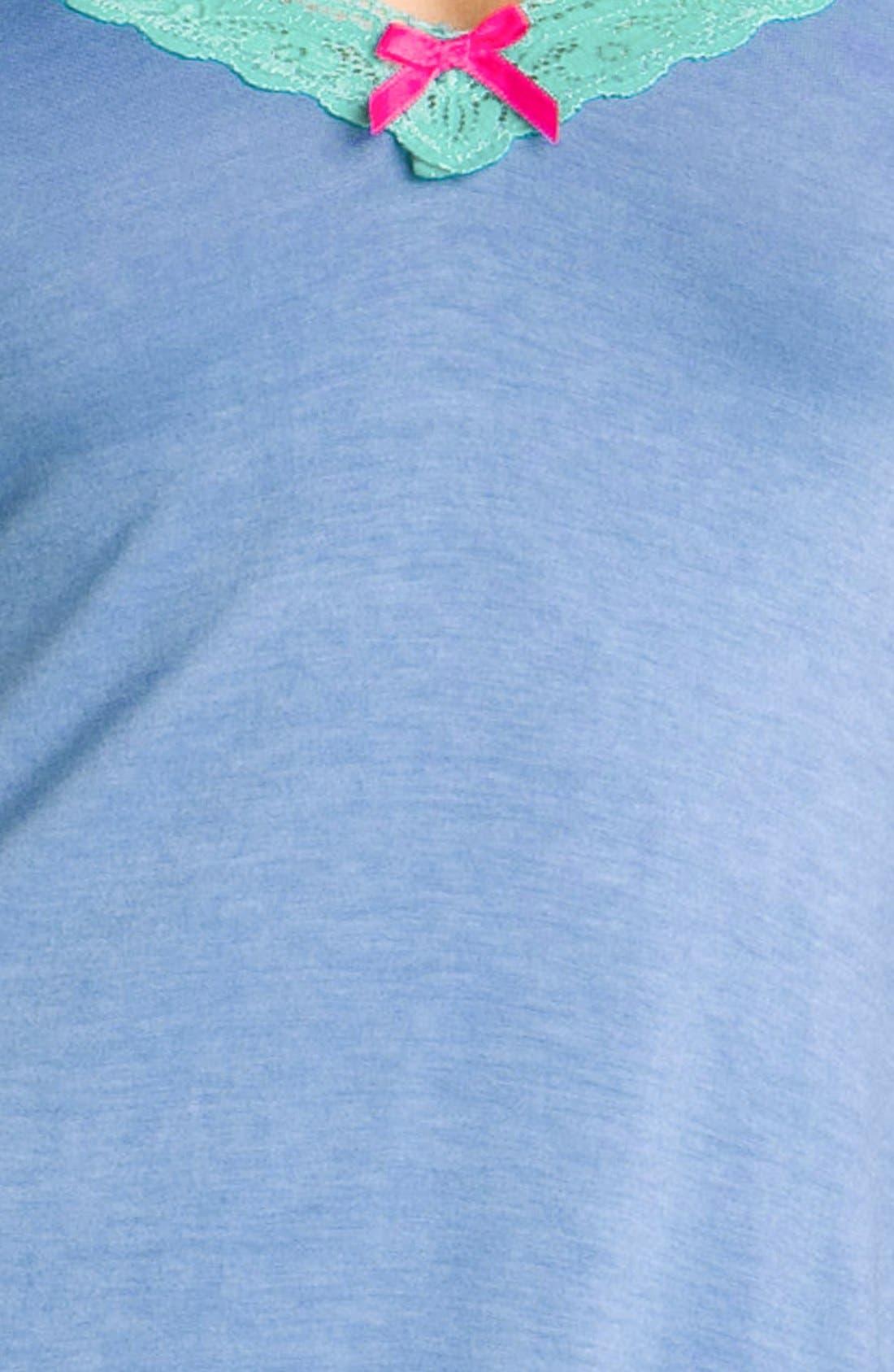Alternate Image 3  - Honeydew Intimates 'Sweetheart' Lace Trim Chemise
