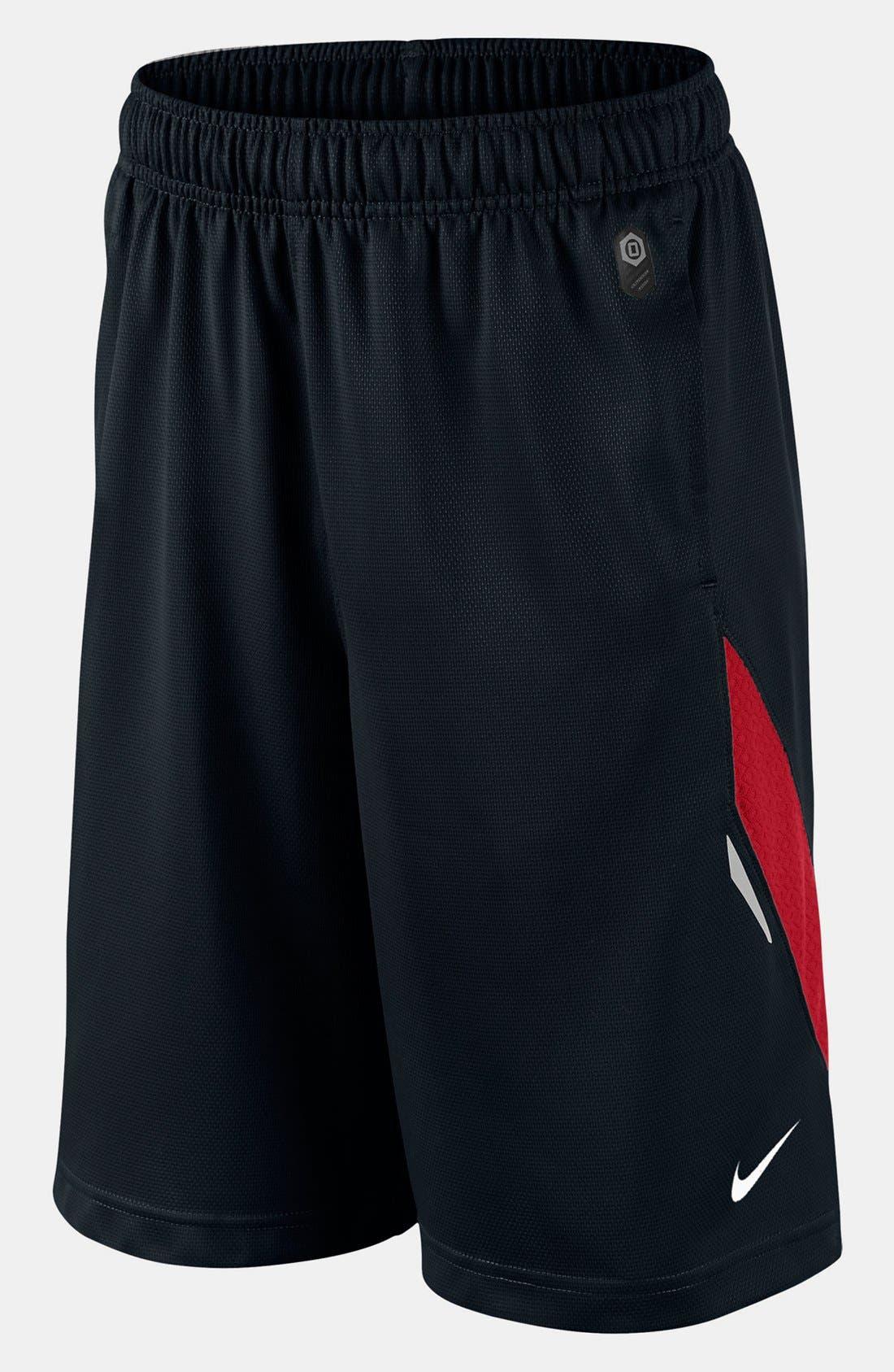 Alternate Image 1 Selected - Nike 'LeBron XD' Shorts (Big Boys)