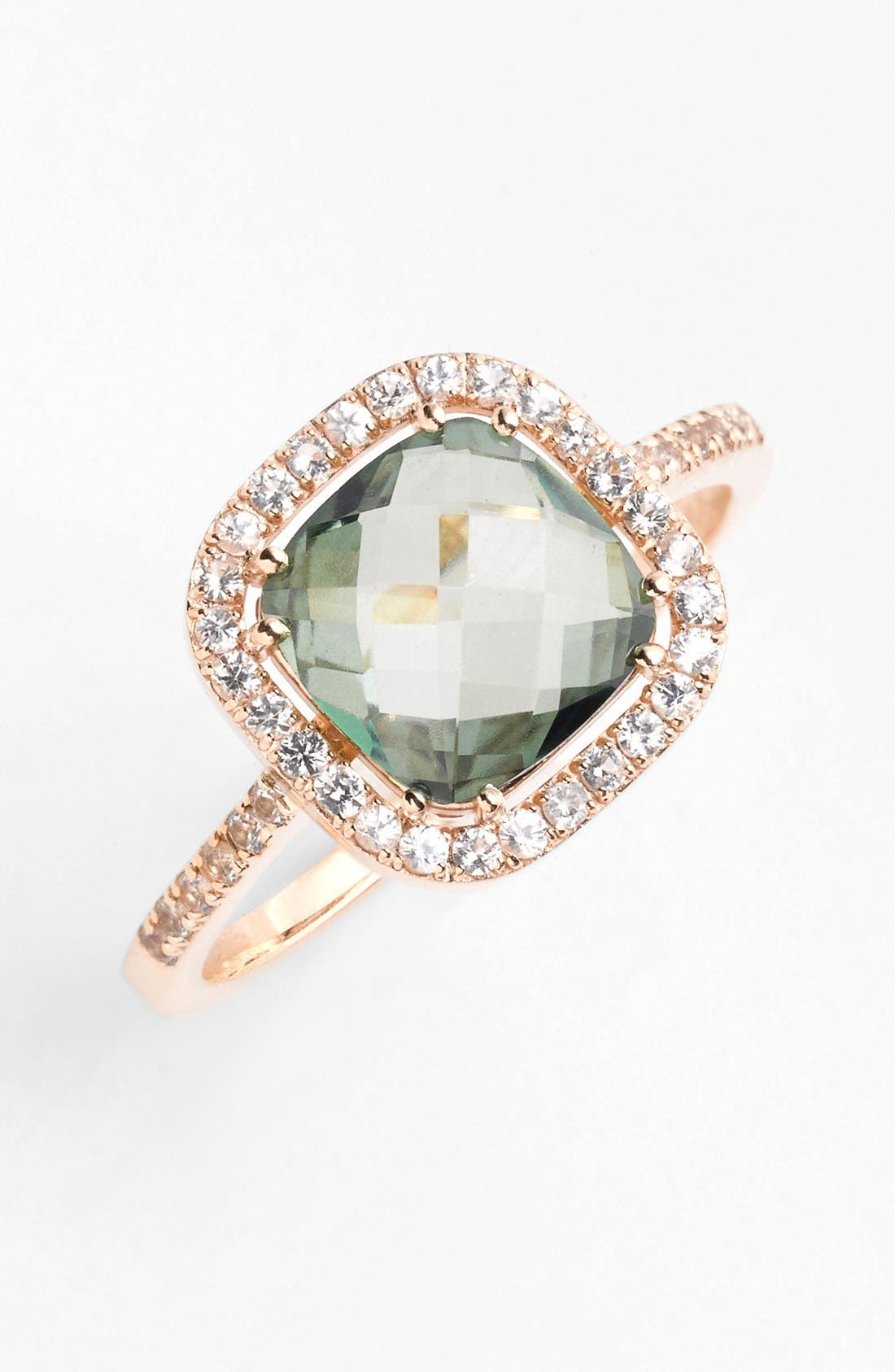 Alternate Image 1 Selected - KALAN by Suzanne Kalan Cushion Stone Sapphire Bezel Ring