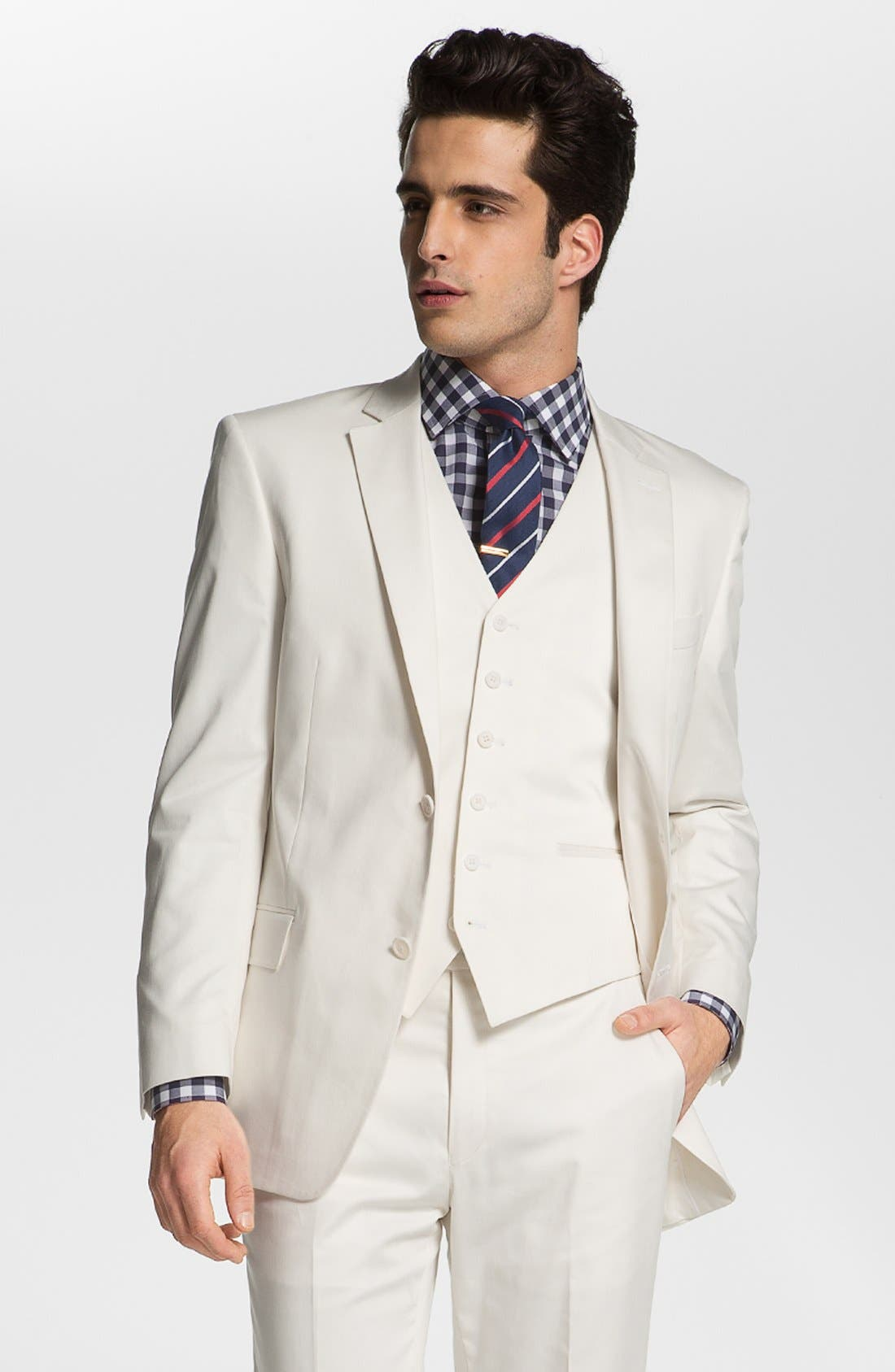 Alternate Image 1 Selected - John Varvatos Star USA 'Loft' Trim Fit Blazer